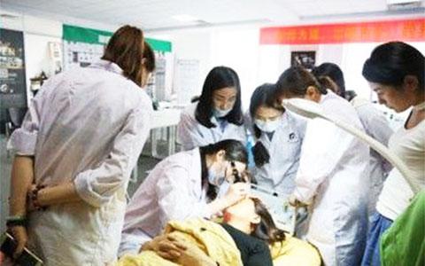 杭州半永久培训学校墨非美妆学院提升班