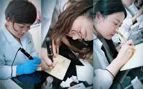 北京半永久培训学校媚博士纹绣高级班